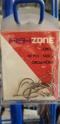 Circle hooks size 2 - super strong, super sharp